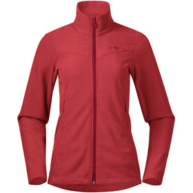 Bergans Finnsnes Fleece Jacket Women fire red